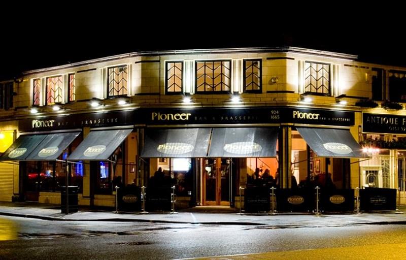 Pioneer Bar Crosby